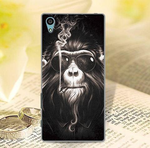 Оригінальний чохол накладка для Sony Xperia Z5 E6633 з картинкою Мавпа