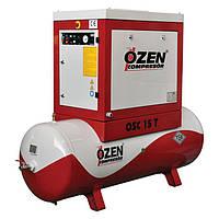 Винтовой компрессор на воздушном ресивере Ozen серии Spark
