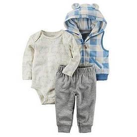 """Комплект одежды """"Клетка"""" от Carters"""