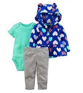 """Комплект одежды """"Синие сердечки"""" от Carters"""