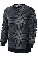 Толстовка nike club crew- tech plaid