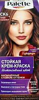 Крем-краска для волос Palette (Палет) CК6 Теплый каштановый