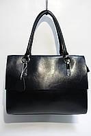 Женская сумка с кожаными ручками DL410 black