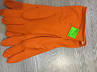 Перчатки кислотно-щелочно стойкие латекс