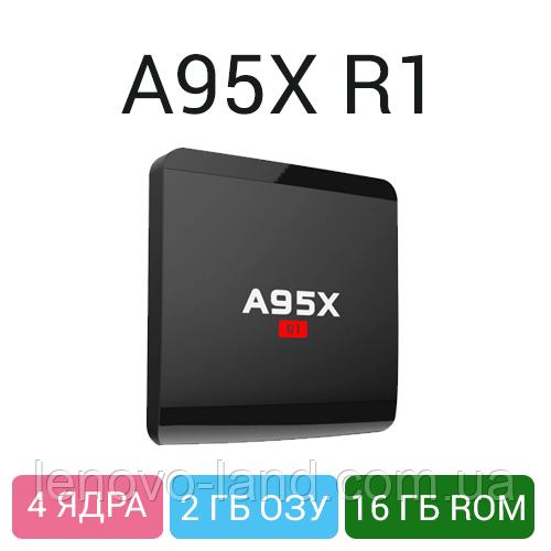 Android TV Box A95X 2/16GB - мощный медиаплеер для ТВ, 4 ядра