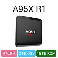 Android TV Box A95X 2/16GB - мощный медиаплеер для ТВ, 4 ядра, фото 1