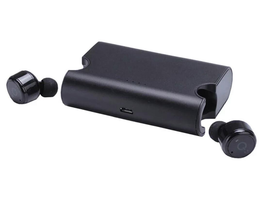 Bluetooth навушники 4.2 mini TTLIFE X2T із зарядною станцією