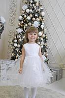 Белое платье детское. Прокат/аренда Киев