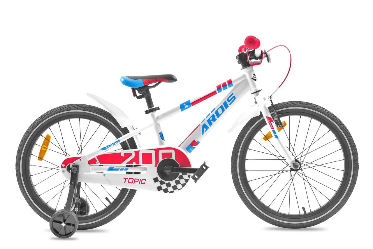 """Детский велосипед ARDIS TOPIC AL 20""""  Белый/Красный"""