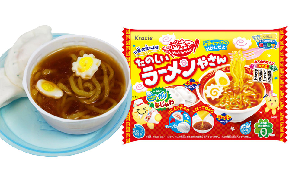 """Popin' Cookin' Fun Ramen Kit  Японский набор """"Сделай сам"""" для приготовления лапши и пельменей"""
