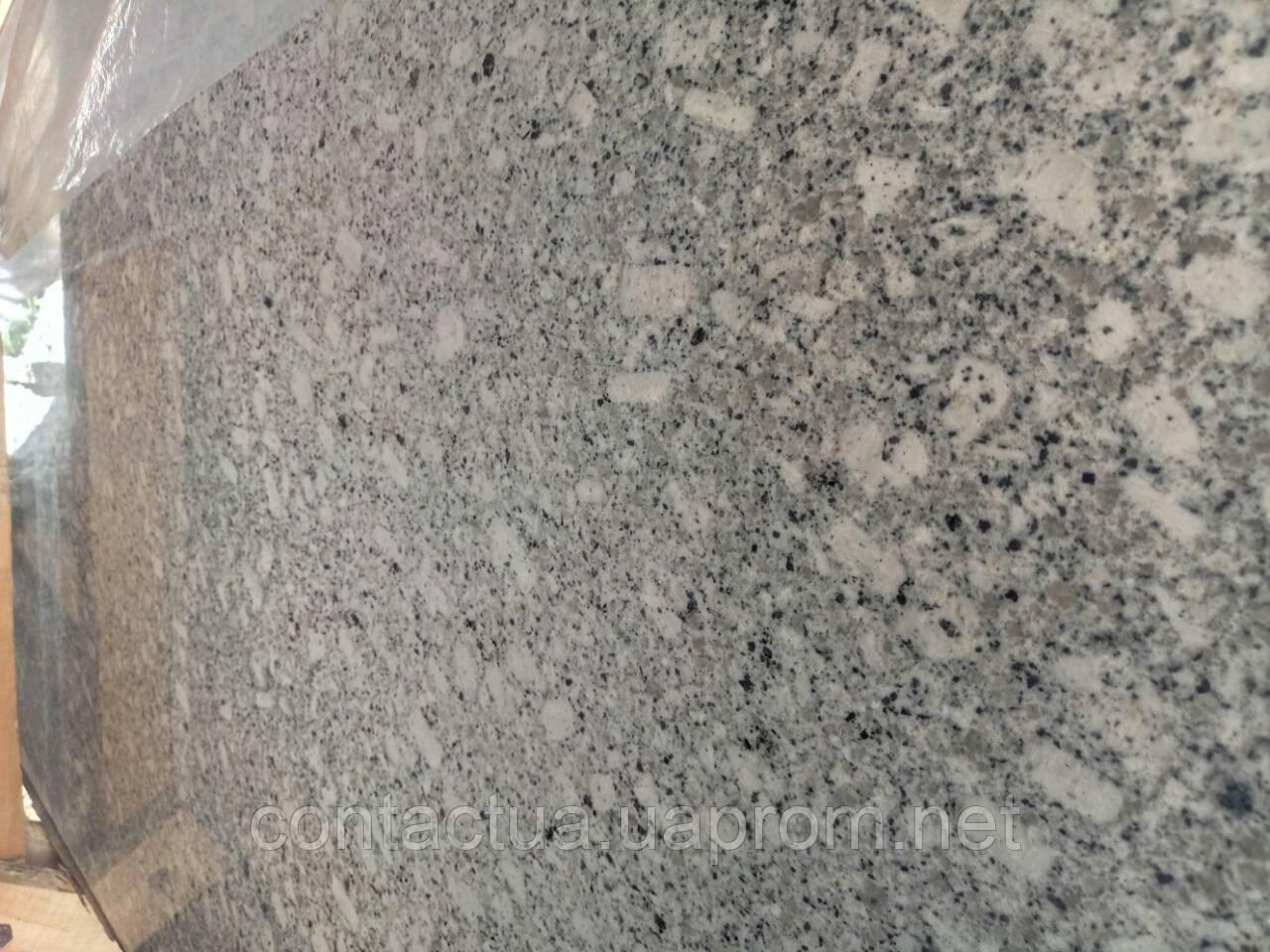 Гранит Platinum White - ЧП «Контакт» в Житомирской области