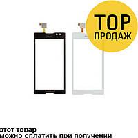 Сенсорный экран для мобильного телефона Sony C2305/S39h/Xperia C, черный, AAA
