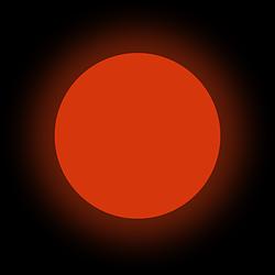 Люминофор красный GlowColors RED