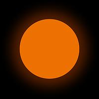Люминофор оранжевый GlowColors