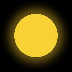 Люминофор темно-желтый GlowColors