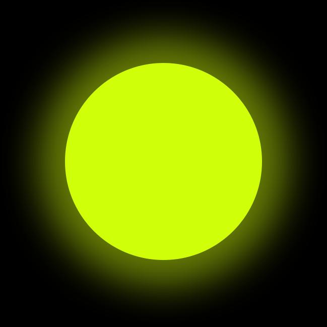 Люминофор желтый GlowColors YELLOW
