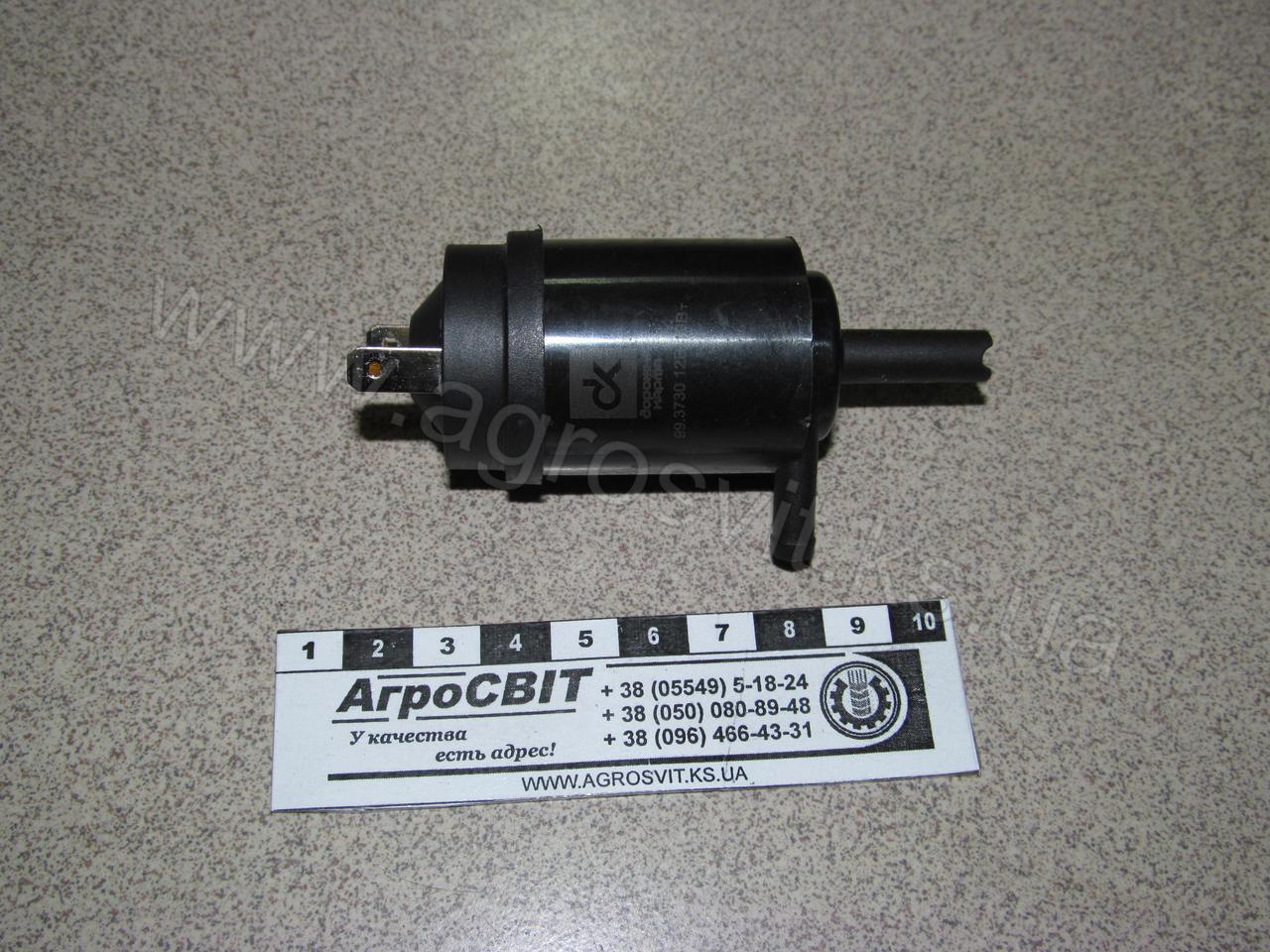 Электродвигатель омывателя ВАЗ, ГАЗ (нового образца), кат. № 99.3730