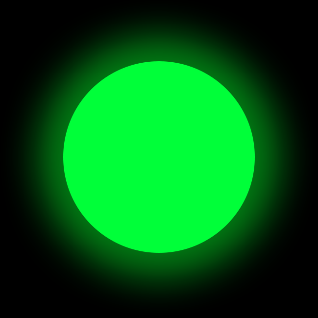 Люминофор зеленый GlowColors GREEN