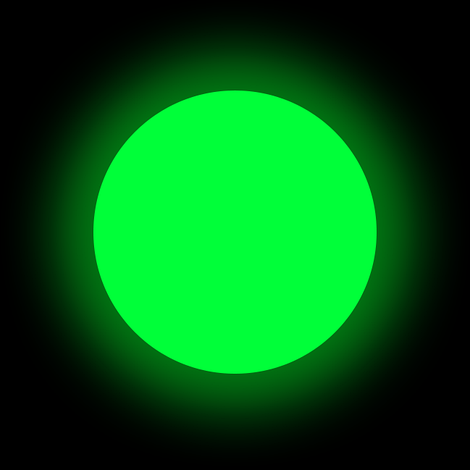 Люминофор зеленый GlowColors GREEN