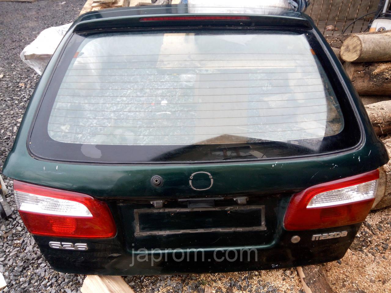 Крышка багажника со стеклом G14S-63-930 Mazda 626 GW 1997-2002