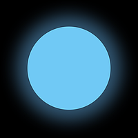 Люминофор Классик голубой GlowColors