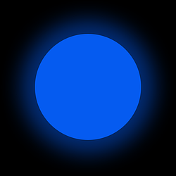 Люминофор синий GlowColors DARKBLUE