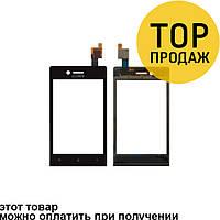 Сенсорный экран для мобильного телефона Sony ST25i/Xperia U, черный, AAA