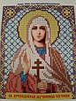 Набор для вышивки бисером ArtWork икона Святая Преподобная Мученица Евгения VIA 5051, фото 2