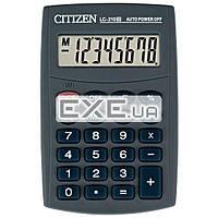 Калькулятор Citizen LC-210III, карманный, 8-разрядный, литиевая, 98 x 64 x 13 мм