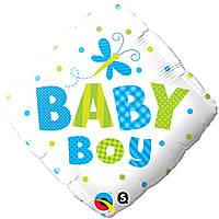 """Фольгированный шар с рисунком Anagram Ромб 18"""" Для мальчика"""