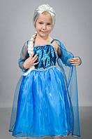 Детский карнавальный костюм Эльзы, фото 1