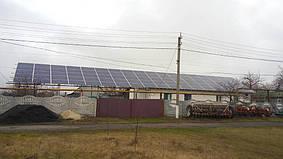 Великая Костромка Днепр обл. сетевая солнечная электростанция под зеленый тариф 24 кВт Huawei