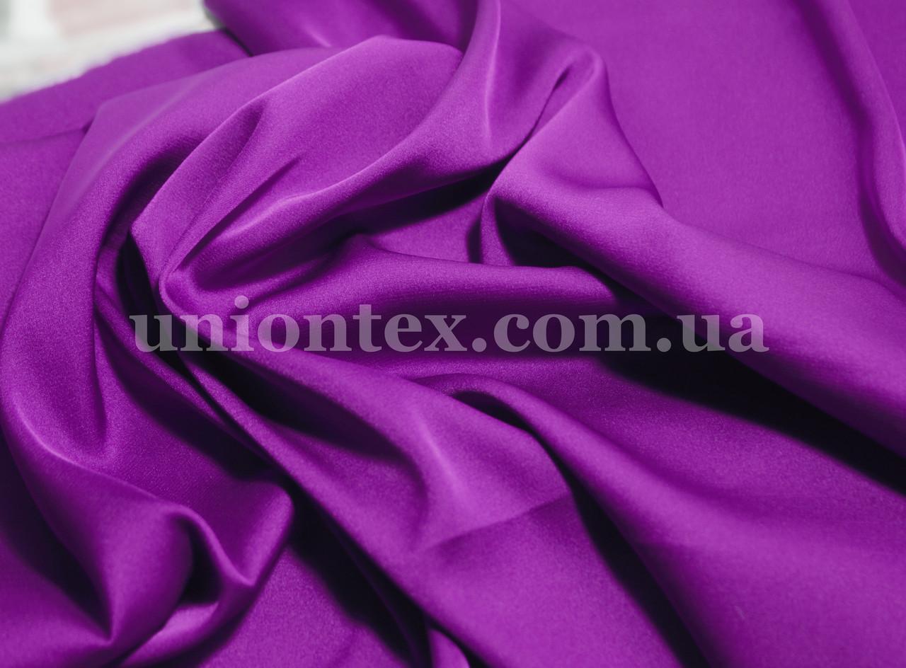 Ткань шелк-армани фиолетовый