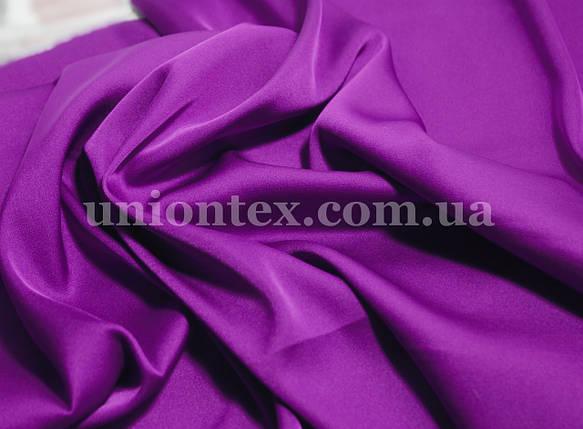 Ткань шелк-армани фиолетовый, фото 2
