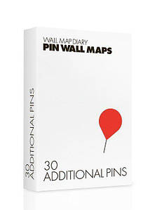 Булавки для украшения Pin-код и Pin-код World City 30 шт.