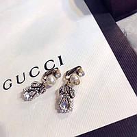 Клипсы Gucci