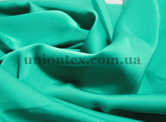 Ткань шелк-армани бирюзовый, фото 2