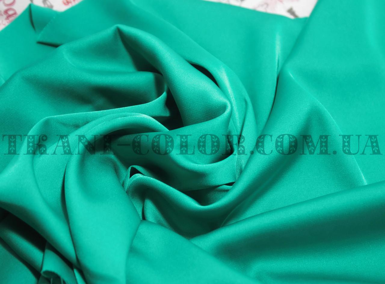 Ткань шелк армани бирюзовый