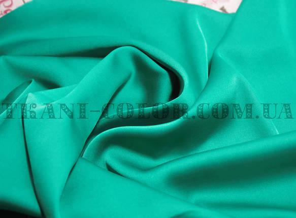 Ткань шелк армани бирюзовый, фото 2
