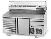 Охлаждающий стол для пиццы   POI178S6#AGI174 GGM