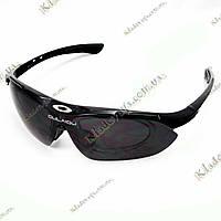 Велосипедные очки OULAIOU с диоптрийной вставкой, 5 линз, фото 1