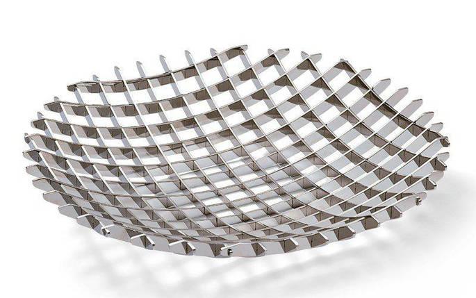 Сервировочная подставка на фрукты Grid 30 см, фото 2