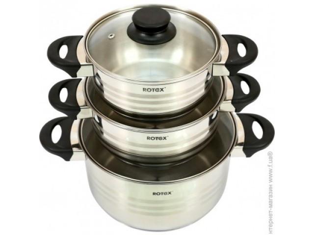 Набор посуды Rotex RC022-6M Milano  ***