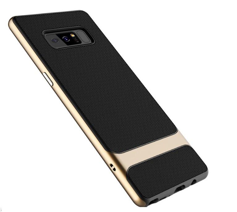 Чехол бампер Rock Royce Series для Samsung Galaxy Note 8 (N950) - Gold