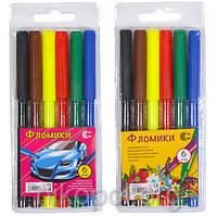 """Фломастер """"С"""" """"Фломики"""" CR550-6 6 цветов"""