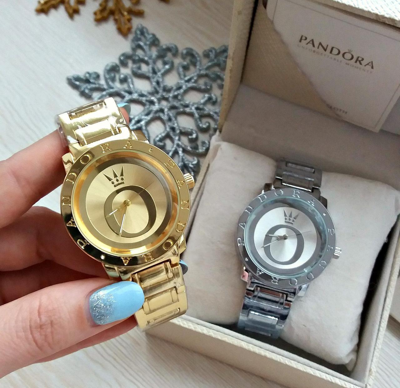 Женские металлические часы Pandora