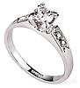 Кольцо Swarovski для помолвки