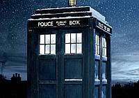 Плакат Доктор Кто 01