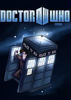 Плакат Доктор Кто 02