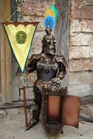 Рыцари высотой от 44 до 180см ручной работы